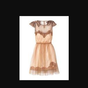 Rodarte tulle slip dress